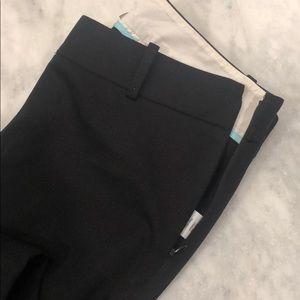 J. Crew Pants - J crew stretchy cropped pants, black size 2